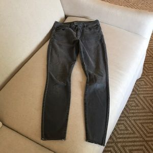 MOTHER DENIM jeans gray wash